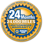 NAPA Auto Care Warranty