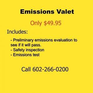 Emissions Valet 2016