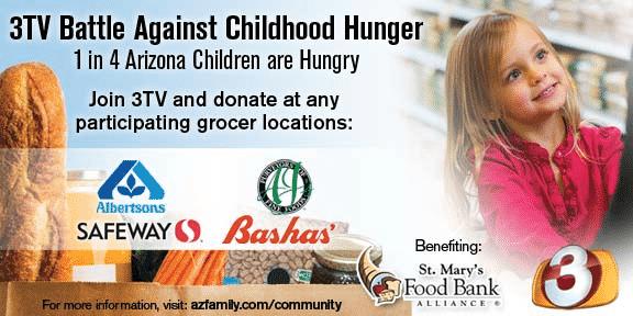 Virginia Auto Service Blog AZ: September is Hunger Action Month