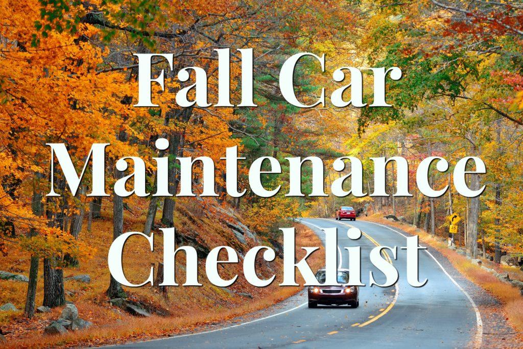 Virginia Auto Service AZ Blog: Fall Car Maintenance Checklist