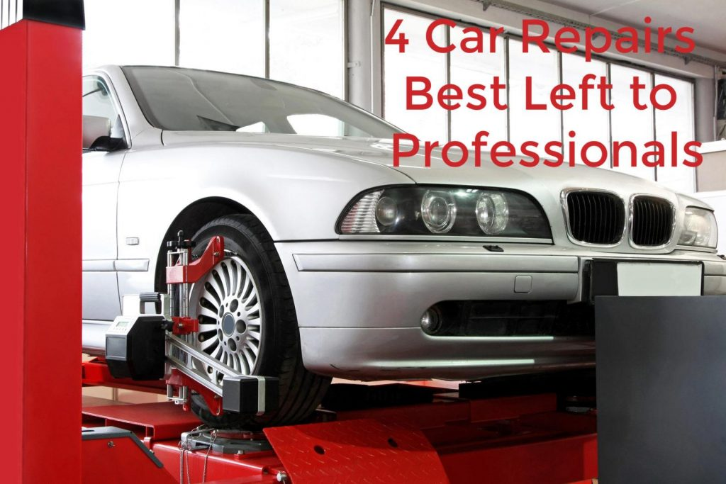 4 car repairs that are best left to the professionals