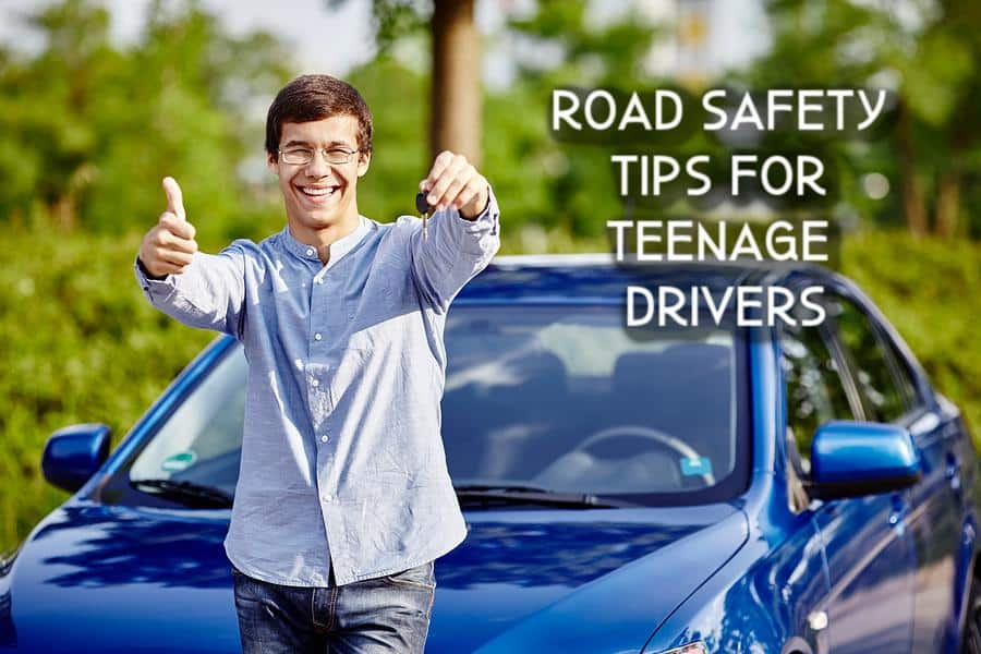 Road safety tips for teenage drivers