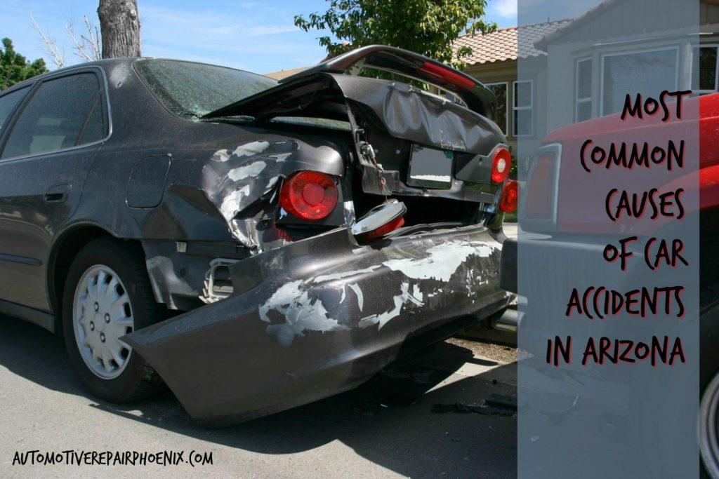 most common causes of car accidents phoenix, az
