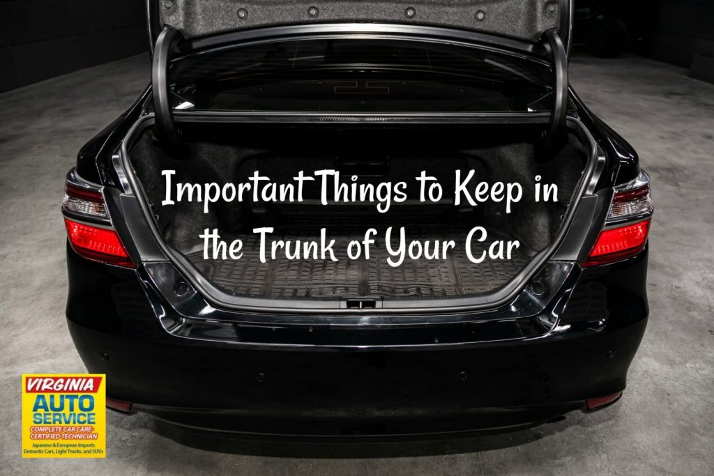 6 essential items to keep in the trunk of your car